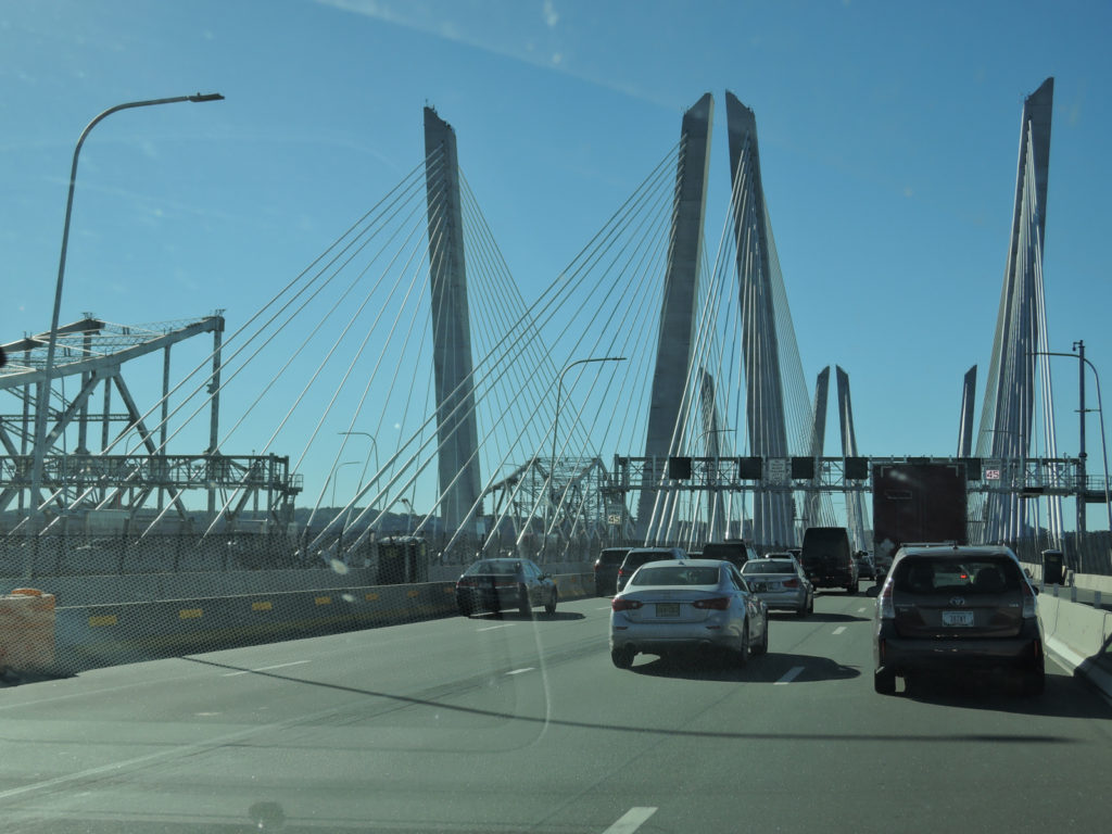 トッパンジー橋上