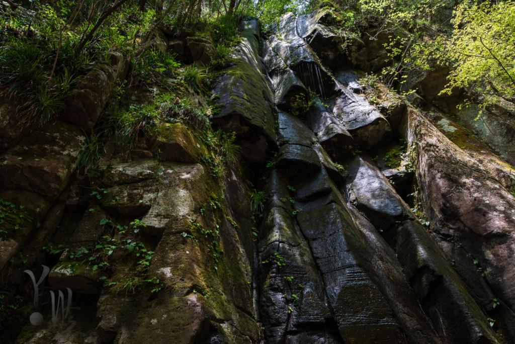 雨降滝の写真